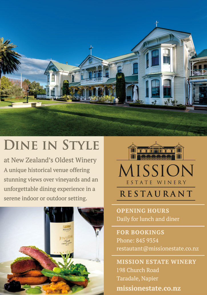 mission winery restaurant